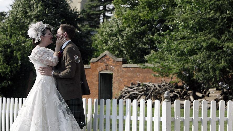 Antsey Hall Wedding film | Kirsty {+} Michael