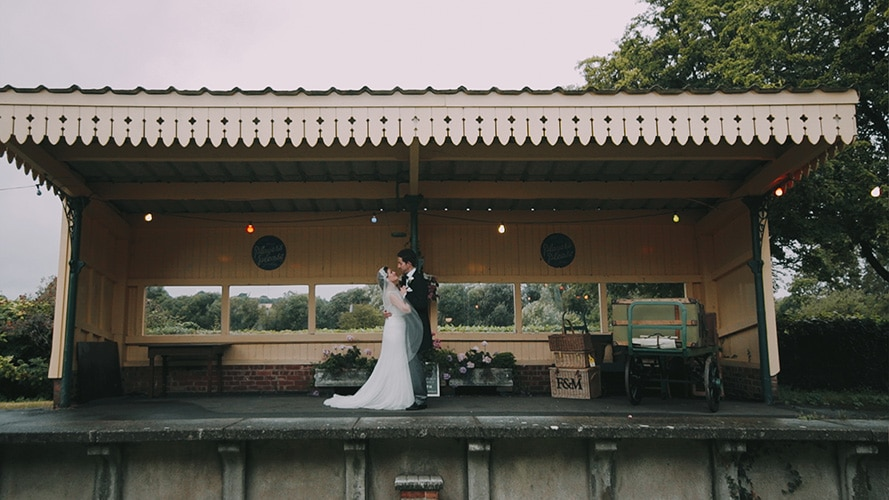 Wedding at Horsebridge Station | Gemma {+} Andy