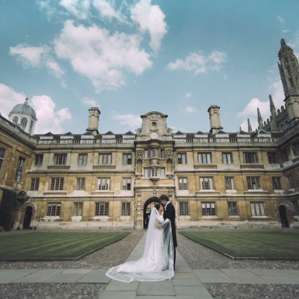A Clare College Cambridge Wedding | Evianne {+} Matthew