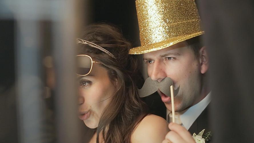 wedding video at Claridges