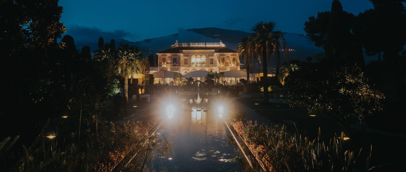 Villa Ephrussi De Rothschild Wedding