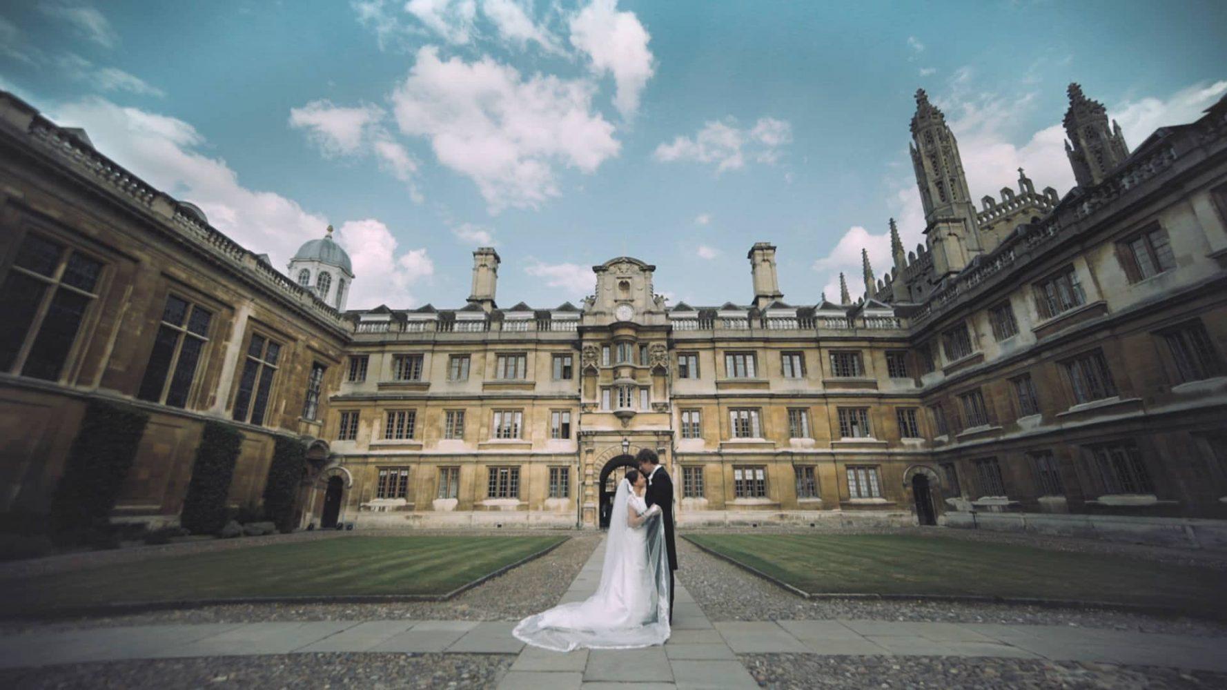 Clare College Cambridge Wedding