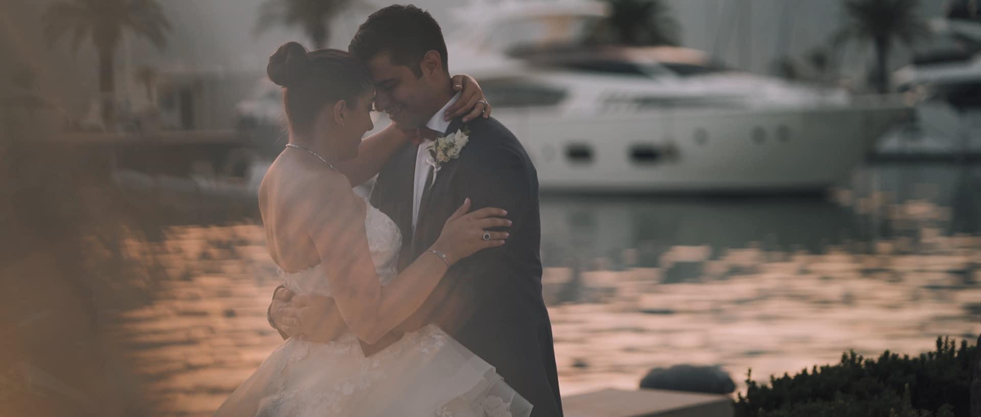 Wedding at Regent Porto Montenegro