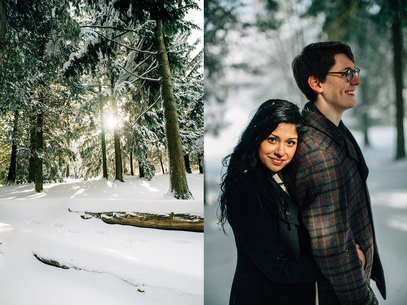 Vancouver Woodland Engagement Session