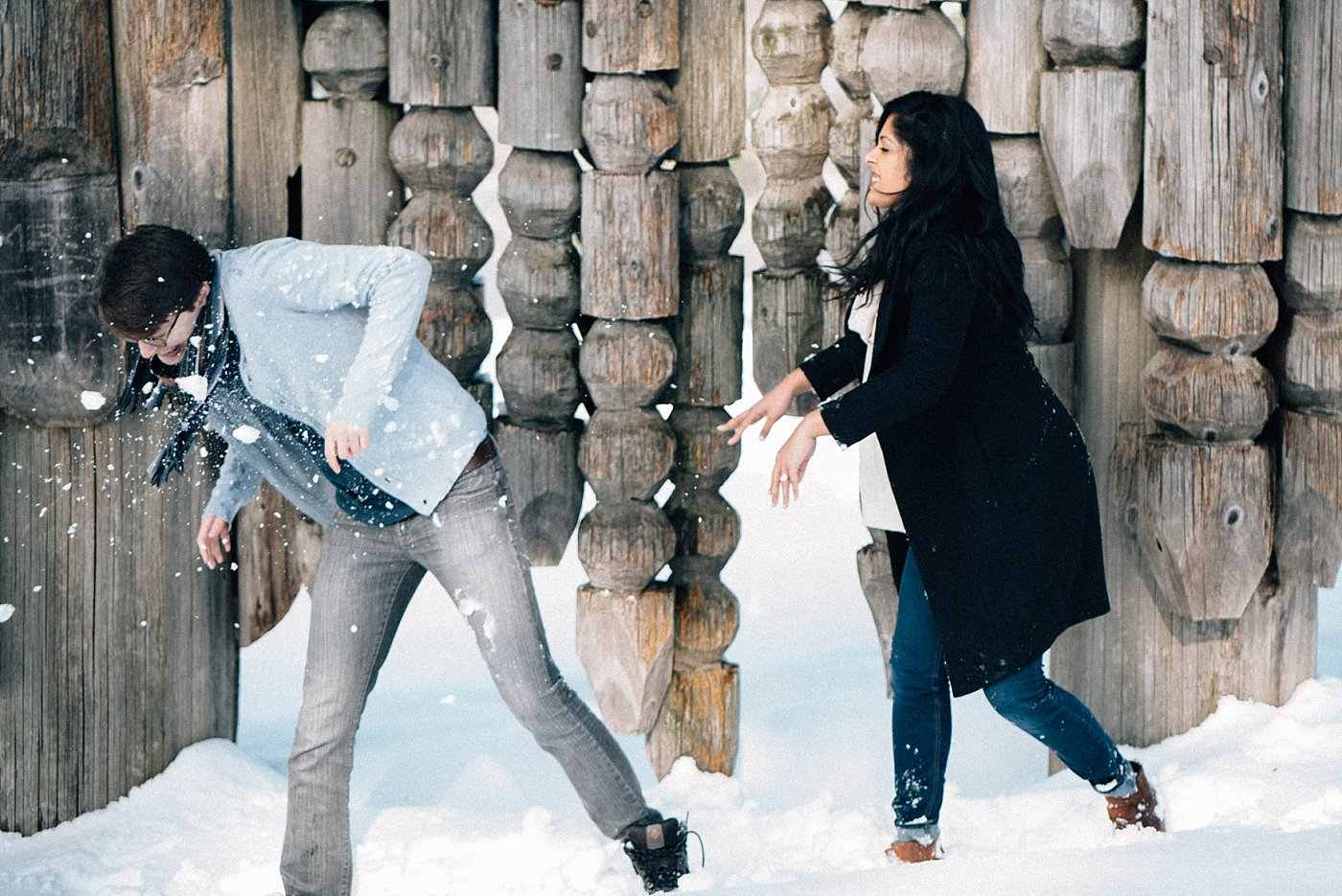 Winter Engagement Session Vancouver