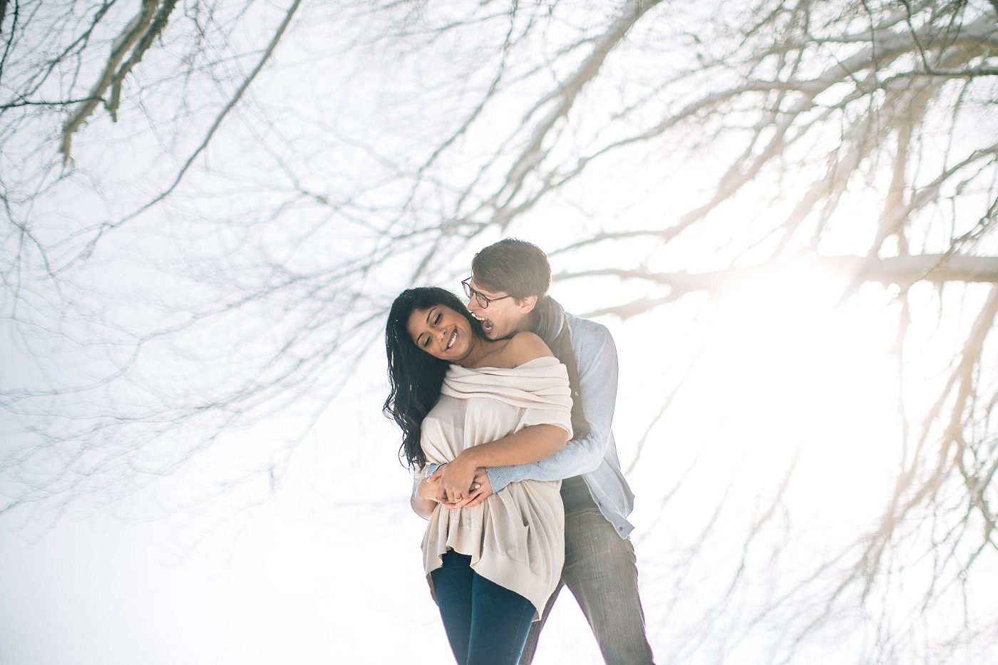 Burnaby Woodland Engagement Session