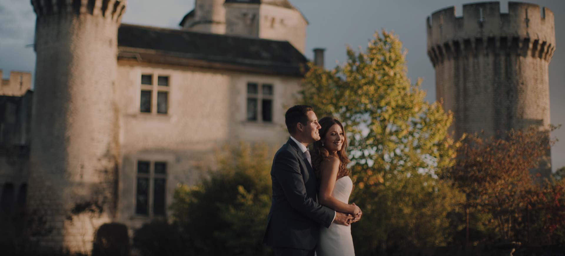 Dordogne Wedding video at Chateau Marouatte, France