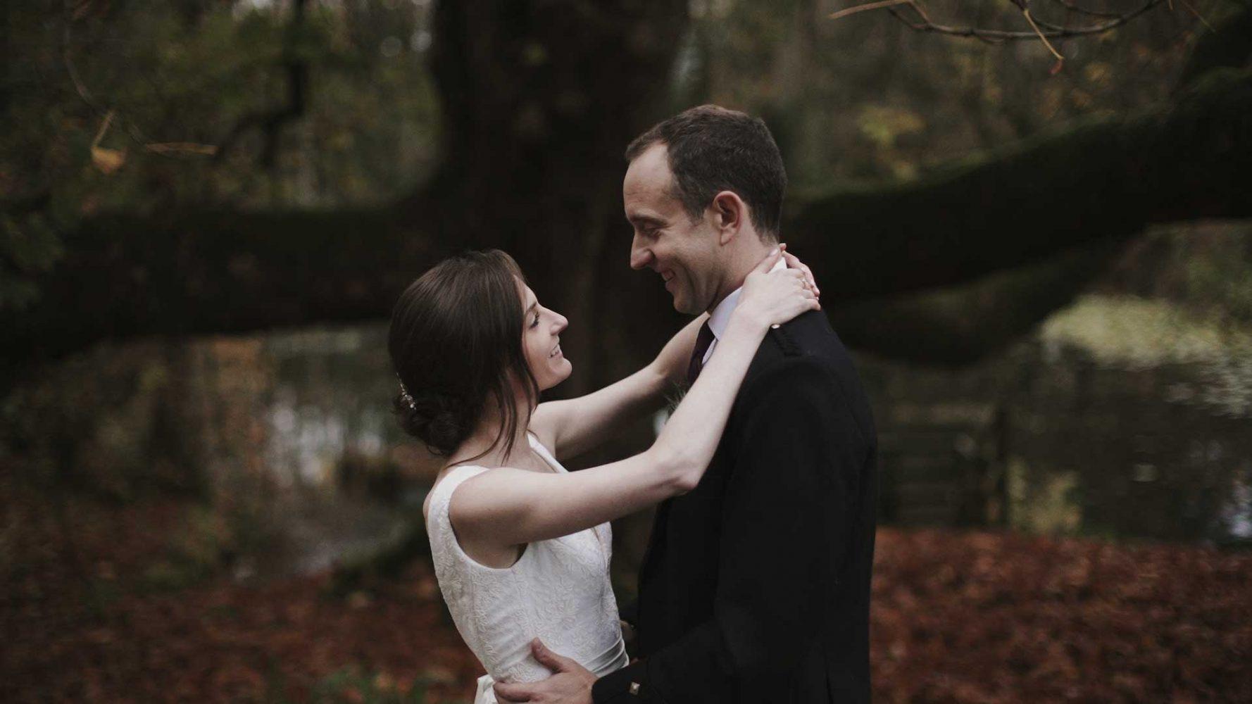 Glenapp Castle wedding video Ballantrae