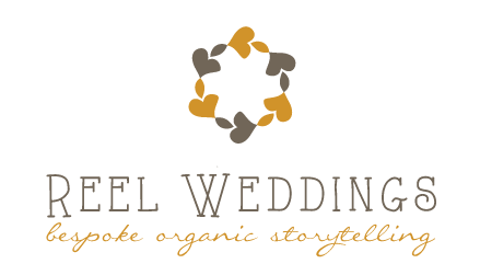 Reel Weddings | Wedding Films/Videos and Event Cinematography | Across Manchester, Cheshire, Lancashire, and the rest of the UK logo